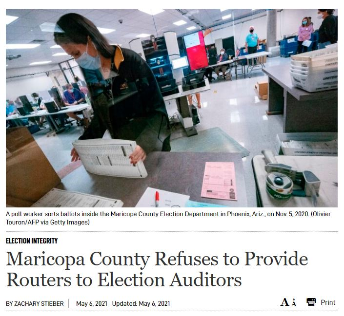 Three Developments That Should Nullify Maricopa County 2020 Election and Put Supervisors in Legal Jeopardy — BEFORE THE FORENSIC AUDIT EVEN STARTED 2