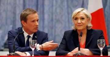 Charismatic First Round Candidate, Nicolas Dupont Aignan, Throws His Support – And Almost Two Million Votes – Behind Le Pen