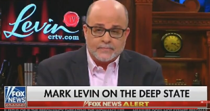 """Mark Levin: """"Obama Administration Did More to Interfere with Our Election Than the Russians"""" (VIDEO)"""