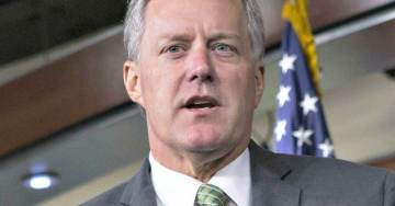 Mark Meadows Reviews New 'Peter Strzok Coverup Text Messages' at Justice Department