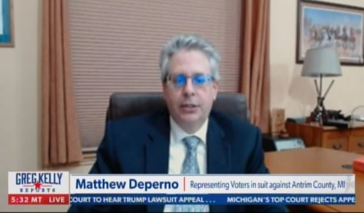 """BREAKING: Michigan Attorney DePerno Files New Findings - Alleges 1,061 """"Phantom"""" Ballots Found in Antrim County 2020 Election"""