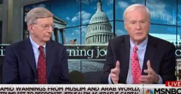 Liberal Crank Chris Matthews Trashes Christians in Alabama After Trump Recognizes Jerusalem as Israeli Capital (VIDEO)