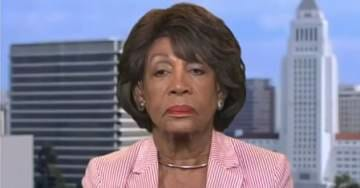 MAXINE WATERS Tells MSNBC Viewers to Continue to Harass Republicans at Restaurants (VIDEO)