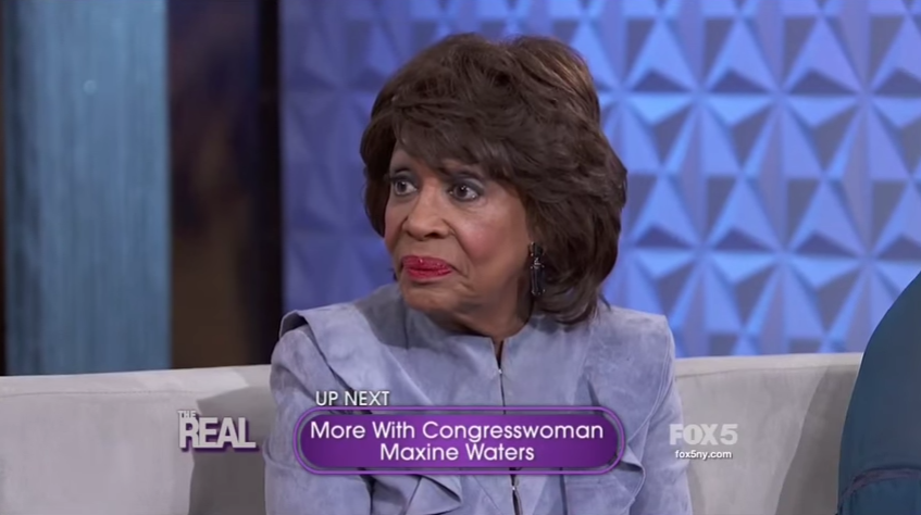 Maxine Waters Admits To LYING About Age To Get Social Security Card (VIDEO)