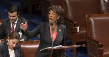 "Unhinged Maxine Waters Has Breakdown On House Floor, Begins SCREAMING Over ""Make America Great"" Slogan [VIDEO]"