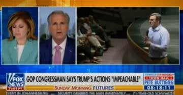 Minority Leader Kevin McCarthy DESTROYS Crackpot Never-Trumper Justin Amash Over His Latest Impeachment Comments (VIDEO)