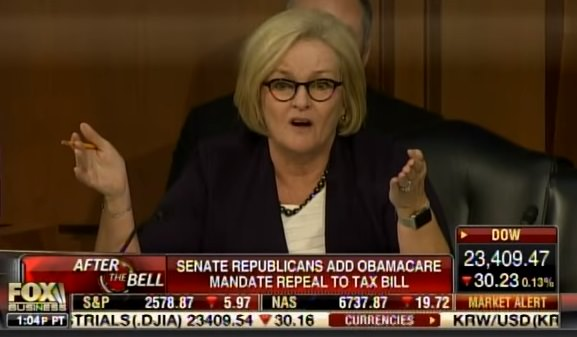 photo image MO Democrat McCaskill Comes UNGLUED at Hearing – Demands Taxpayers Be Forced to Pay $2,800 Obamacare Tax! (Video)