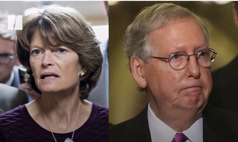 NOW THIS: Mitch McConnell Says He Will Throw His Support Behind Trump-Hating RINO Lisa Murkowski in her Reelection Bid! -- He REALLY Hates His Voters