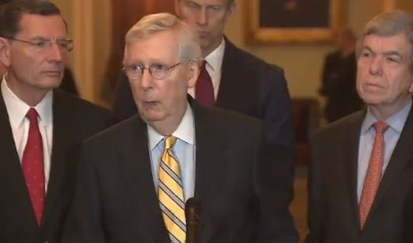 McConnell Signs Hawley Resolution - Senate Impeachment Trial to Begin Next Week