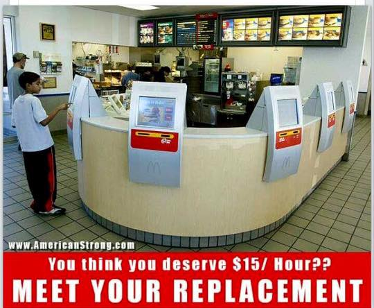 mcdonalds minimum wage