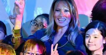 First Lady Melania Trump WOWS Japan During Historic Visit to Tokyo