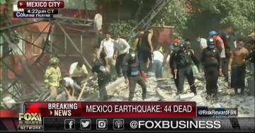 6.1 Earthquake Off New Zealand Follows 7.1 Quake near Mexico City — 119 Dead