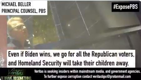 """James O'Keefe Strikes Again: PBS Counsel Michael Beller Caught on Video Promoting Violence, """" Americans F**king Dumb - Take Their Children"""" (VIDEO)"""