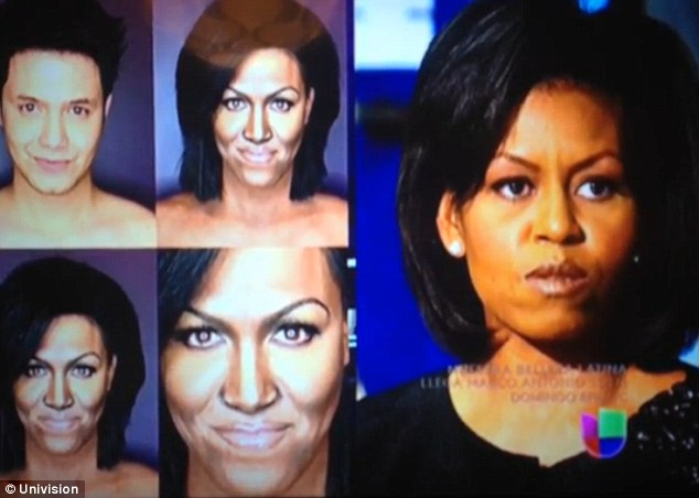 michelle obama planet of apes
