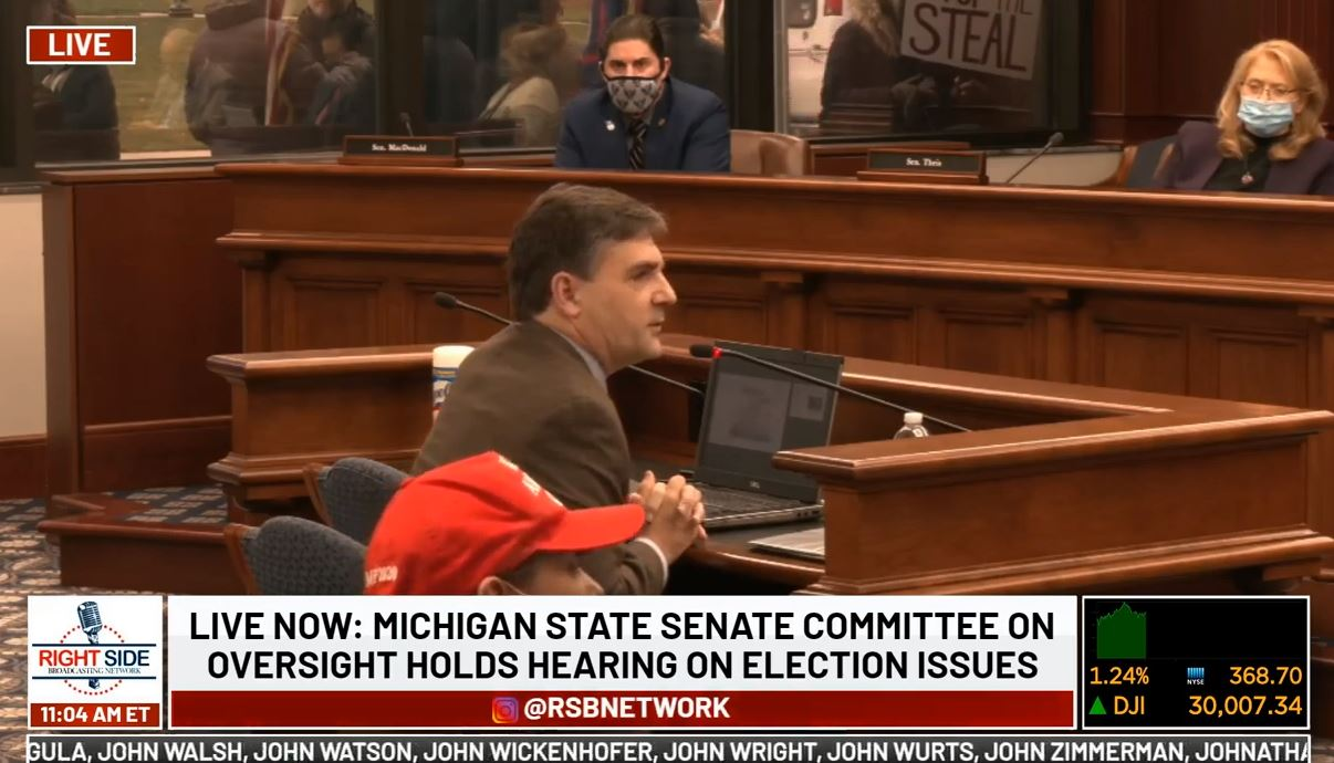 TUESDAY ELECTION FRAUD HEARING: Michigan Oversight Committee — LIVE STREAM VIDEO — And Virginia Whistleblowers Presser at 2 PM