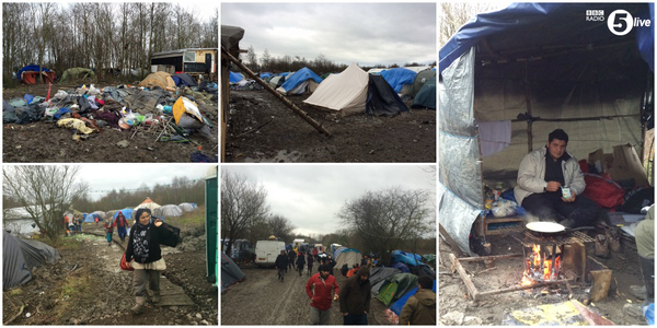 migrant camp grande synthe