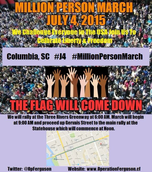 million person march sc