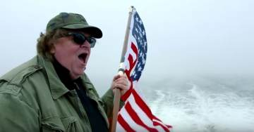 """Democrat Darling Michael Moore Jumps Shark With Latest America-Hating Film: """"Where to Invade Next"""""""