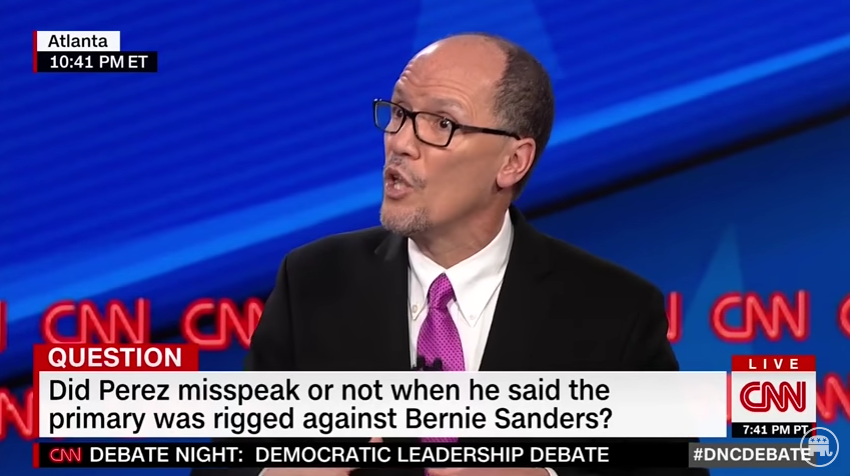 Candidate For DNC Chair Refuses to Answer When Asked if Democrat Primary Was Rigged (Video)