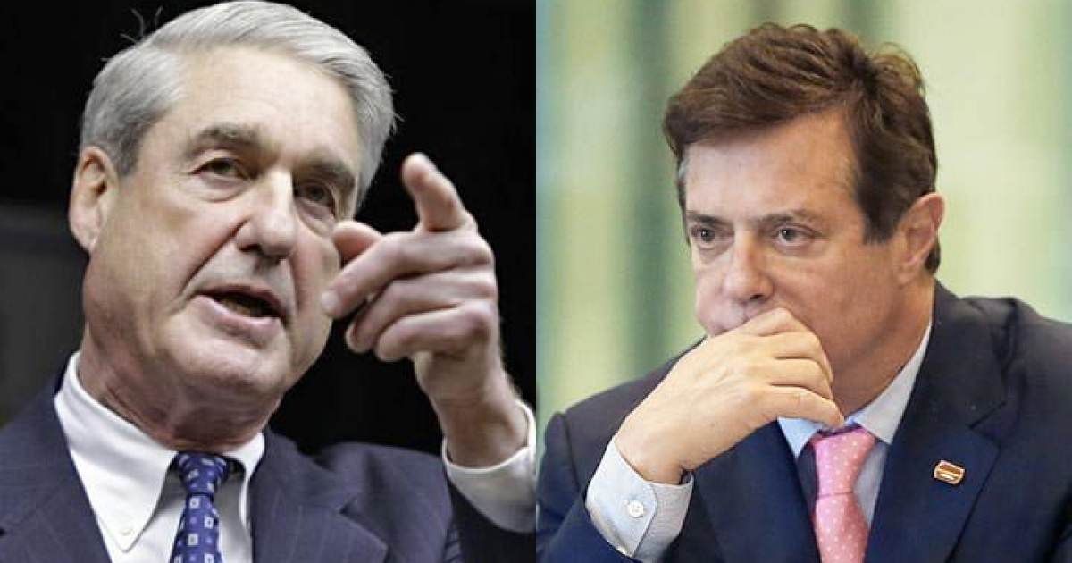 Mueller Seeks to Block Manaforts Defense That He Is Being Targeted Because of His Connection to Trump Huh