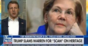 """Native American Lawmaker to Elizabeth Warren: It's Disgusting to Me and Native Americans """"Apologize to All of Us"""" (VIDEO)"""