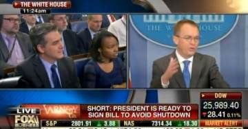 Ouch! CNN's Jim Acosta Gets Smart at WH Presser – Mick Mulvaney Takes Him to School (VIDEO)