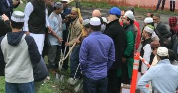 Upstate New York Islamic Center Holds Groundbreaking Ceremony for New Mosque — No Women Allowed