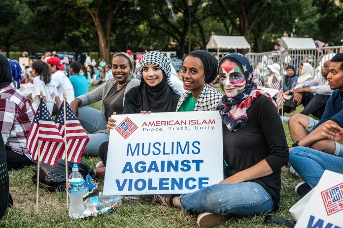 muslims against terror rally DC 07232016 State Dept 1