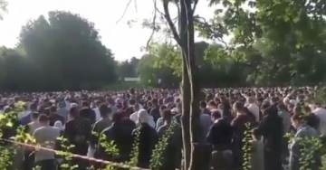 Not Pakistan: Thousands of Muslims Hold Outdoor Prayer Service… In Sweden (VIDEO)