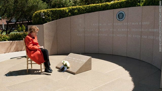 nancy reagan grave