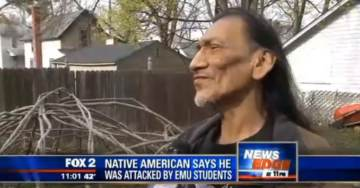 Flashback: Before Smearing and Harassing Catholic Children – Native American Nathan Phillips Accused Frat Boys of Harassment in Similar Event