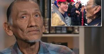 "Native American Liar and Activist Nathan Phillips Says He ""Felt Threatened"" When Harassing Pro-Life Catholic Boys with MAGA Hats"