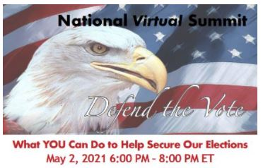 Defend the Vote to Host National Virtual Summit – May 2nd – With Mike Lindell, Patrick Byrne, Jovan Hutton Pulitzer, Dr. Linda Lee Tarver, KrisAnne Hall and the TGP's Jim and Joe Hoft