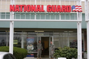 national guard recruit
