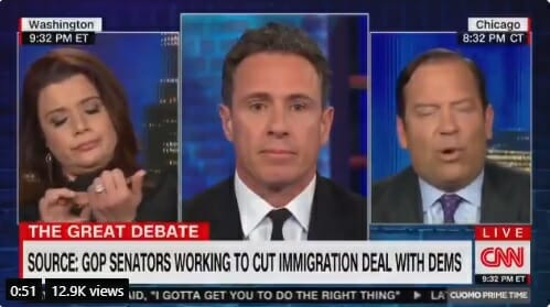 AWFUL! Star CNN Contributor Ana Navarro Files Nails on Live TV as Guest Discusses Murders by Illegal Aliens Navarro-dnc-murders-files-nails-