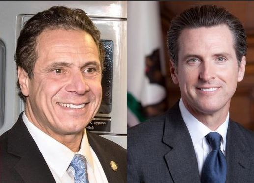 Oh How the Mighty Have Fallen – Democrat Governors Cuomo and Newsom – Once Democrat Kingpins Now Face Removal from Office