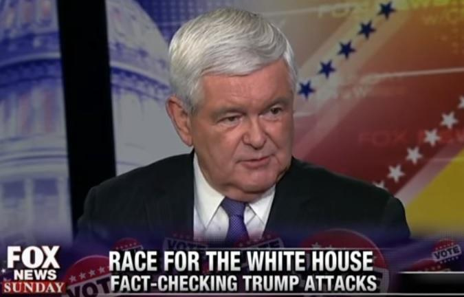 newt gingrich hillary recession