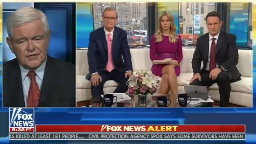 """Newt Gingrich: Mueller and FBI are Acting Like """"Stalin"""" and """"The Gestapo in Germany"""" (VIDEO)"""
