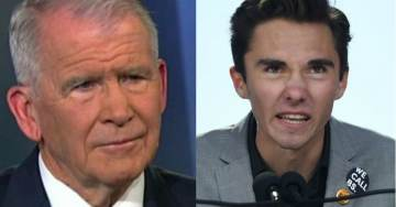 David Hogg Slams Oliver North for Blaming Drugs on School Shootings, Accuses NRA Head of Bringing Cocaine to US