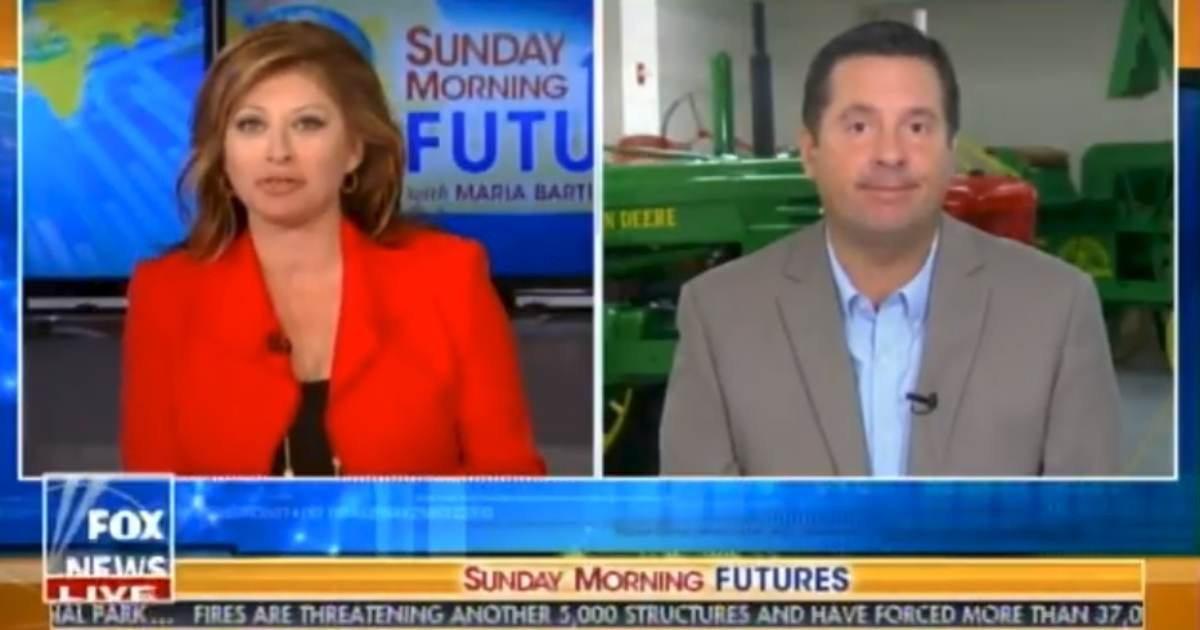 """BOOM! Devin Nunes: We Are Looking at """"Legal Remedies"""" to Deal with Twitter Censoring Conservatives (VIDEO)"""