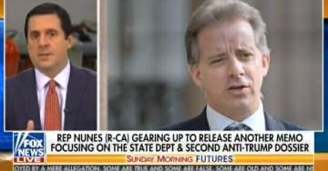 Rep. Devin Nunes: Why Does Deep State Refuse to Prosecute Christopher Steele? This is a Slam-Dunk Case! (Where's Jeff Sessions?)
