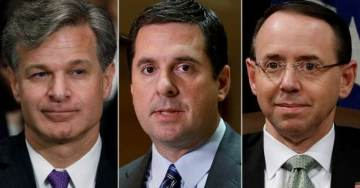 BOOM! Nunes Warns Rosenstein & Wray: Turn Over Unredacted Documents Or Face IMPEACHMENT (VIDEO)