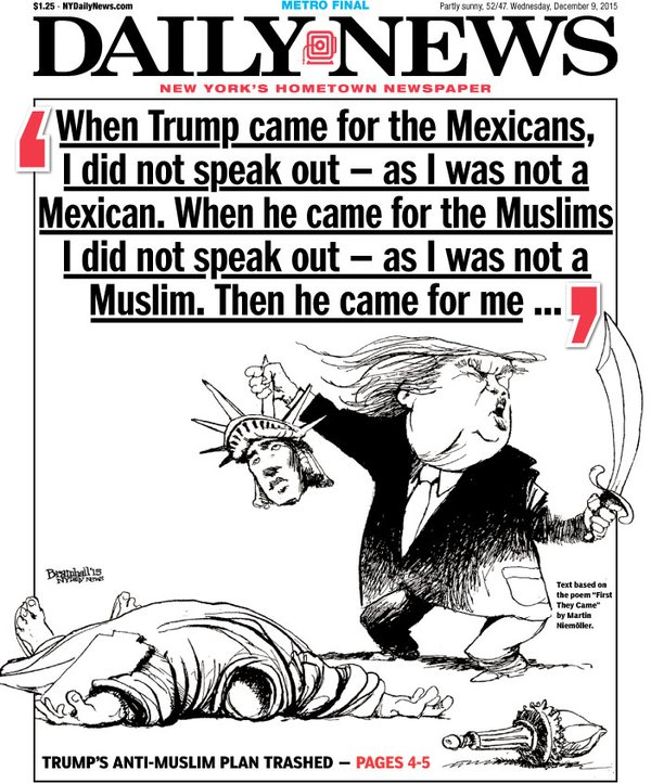 ny daily news trump
