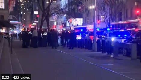 BREAKING: NYC Police Arrest New Jersey Man Trying to Enter St. Patrick's Cathedral with 2 Gasoline Cans