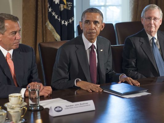 COWARDS: Boehner and McConnell Skip White House Signing Ceremony After Passing Obamatrade