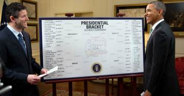 The Curse Lives On=> Obama Picks UVA to Reach NCAA Finals – Instead They Are First #1 Seed to Lose to a #16 Seed in History