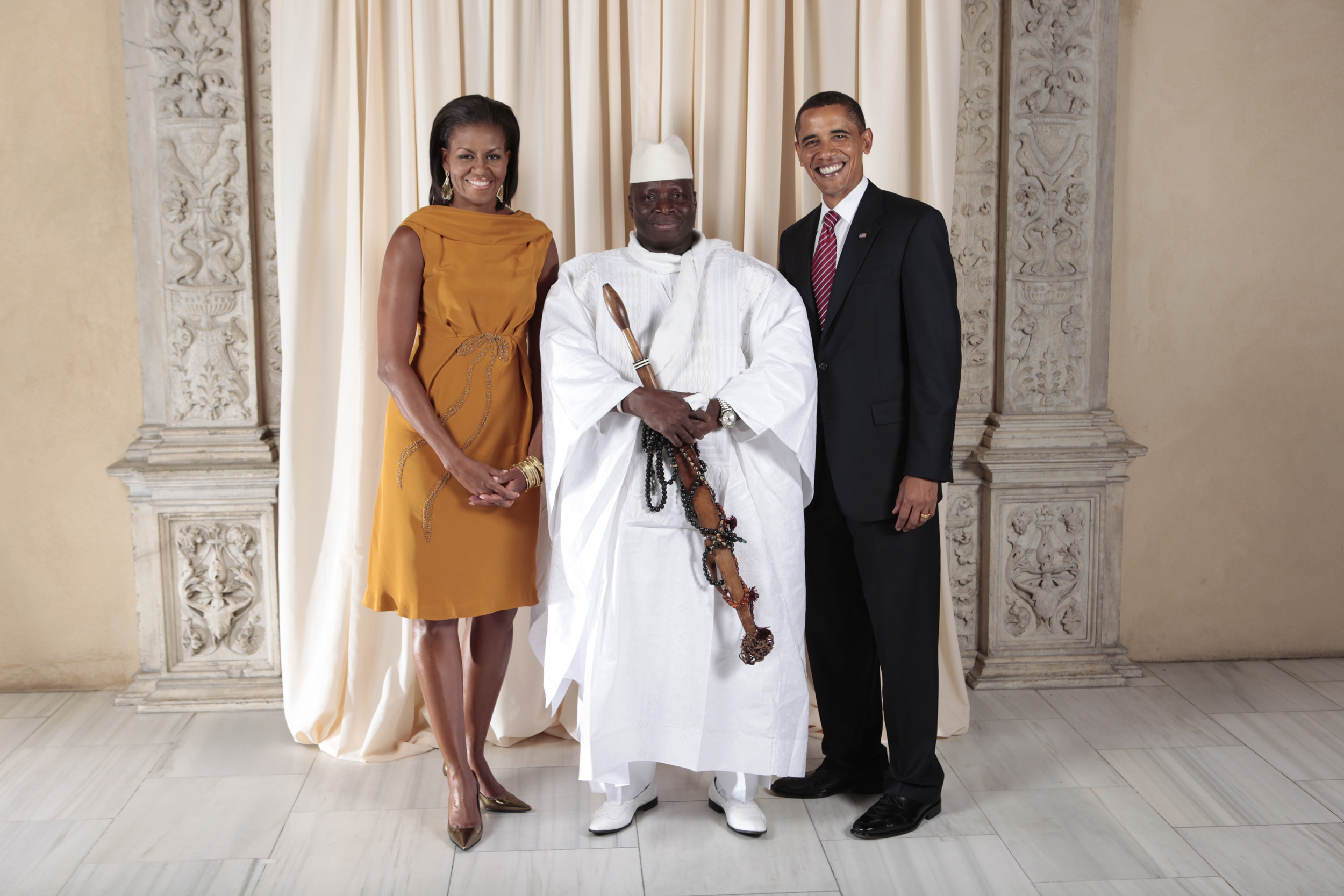 obama gambia leader antigay
