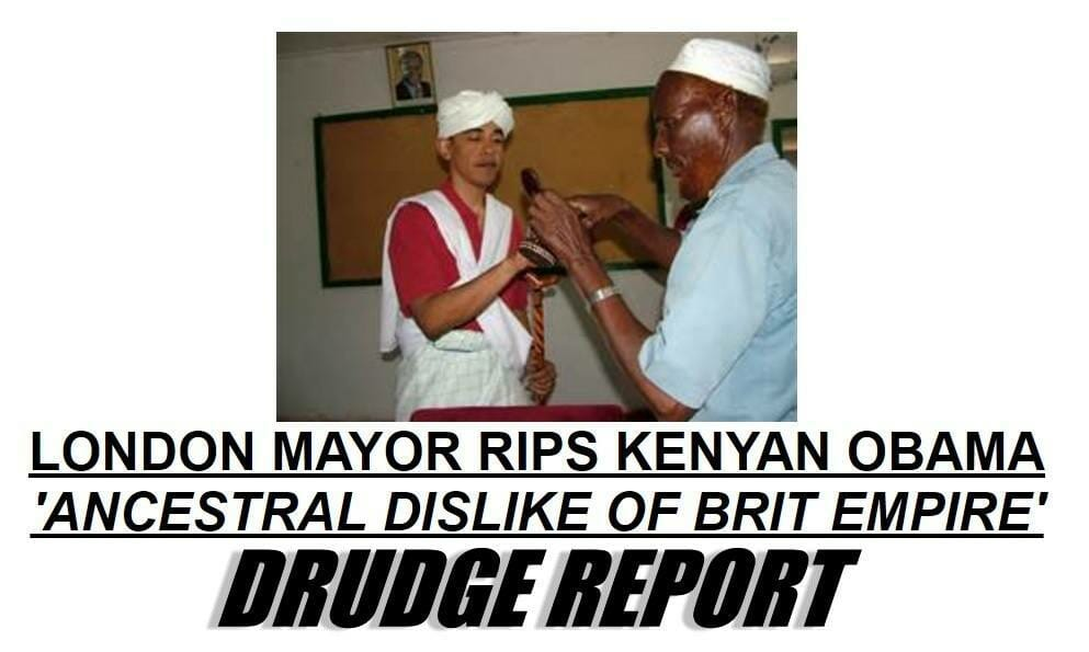 obama kenya mayor