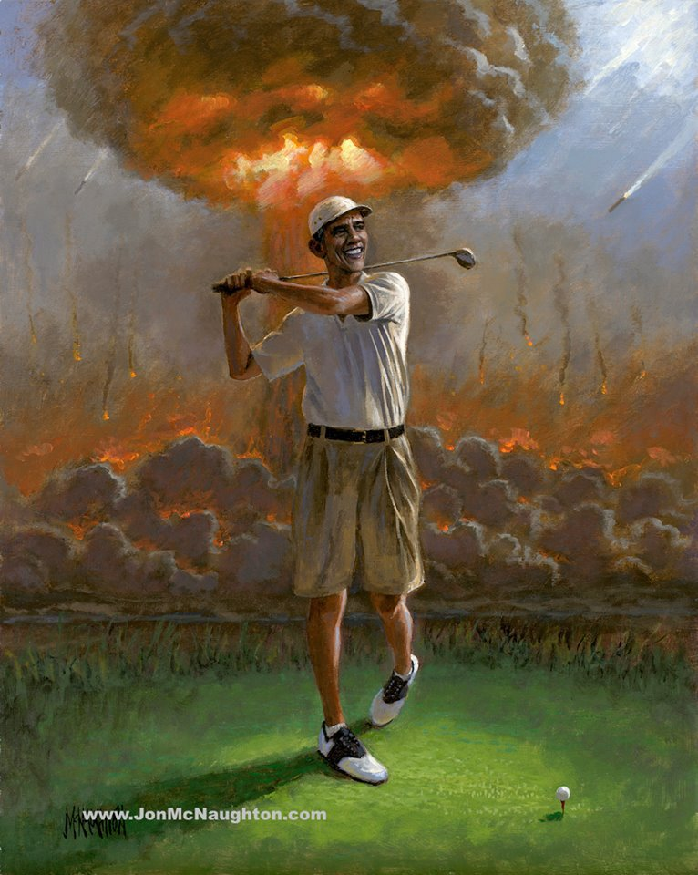 obama teed off mcnaughton