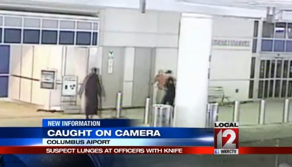 UPDATE:  Jihadist Shot Dead Trying to Hijack OH Plane Had 4 KNIVES TAPED TO LEGS